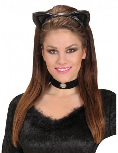 Hoofband met katten oren-1