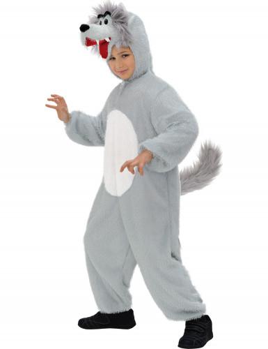 Wolfkostuum voor kinderen
