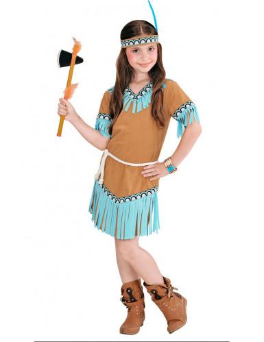 Kleine indiaan kostuum voor meisjes -1