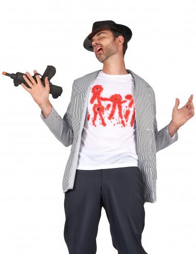 T-shirt met schotwonden