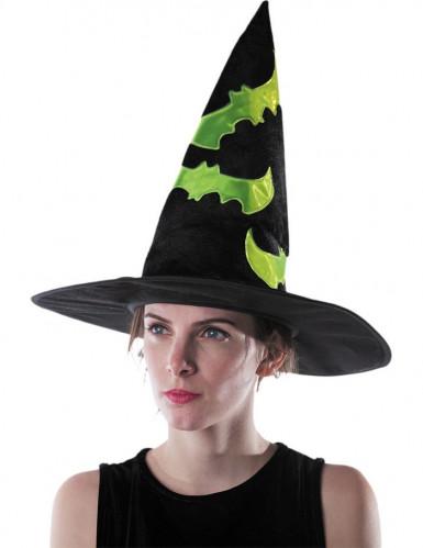 Reflecterende heksen hoed voor volwassenen