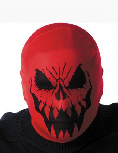 Rode monster kap voor volwassenen Halloween
