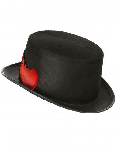 Halloween hoed met hoorntjes voor volwassenen-1