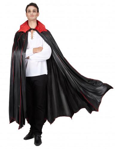 Luxe cape met kraag voor volwassenen Halloween
