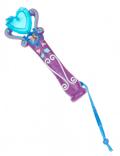 Elsa Frozen™ kostuum voor meisjes met microfoon -2