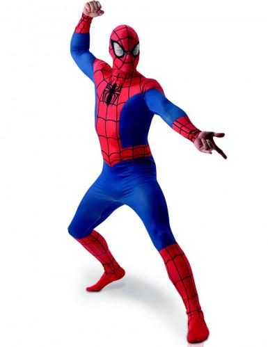 Eendelig second skin Spiderman™ kostuum voor volwassenen