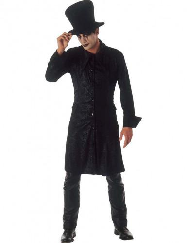 Gotische tovenaar Halloween kostuum voor heren