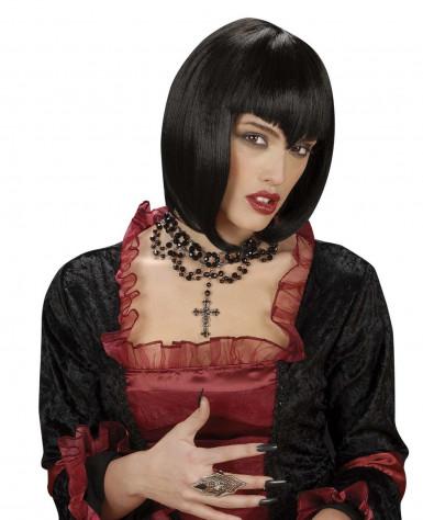Halloween Kruis.Vampier Halsketting Met Kruis Voor Dames Halloween