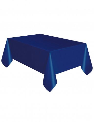 Blauw plastic tafelkleed-1