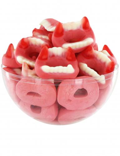 Zak 1 kg tanden snoep Halloween-1