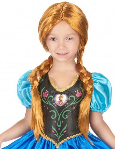 Anna Frozen ™ pruik voor meisjes