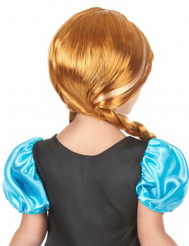 Anna Frozen ™ pruik voor meisjes-1
