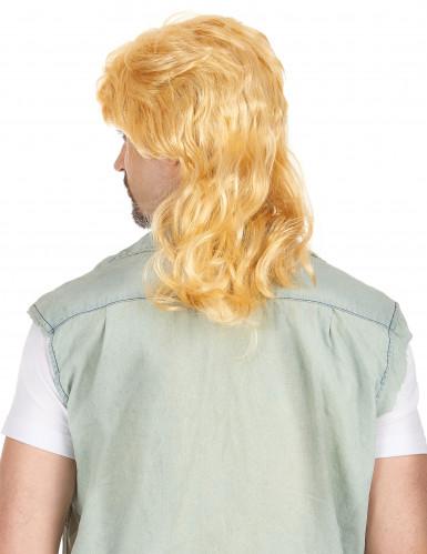 Foute blonde pruik voor mannen-1