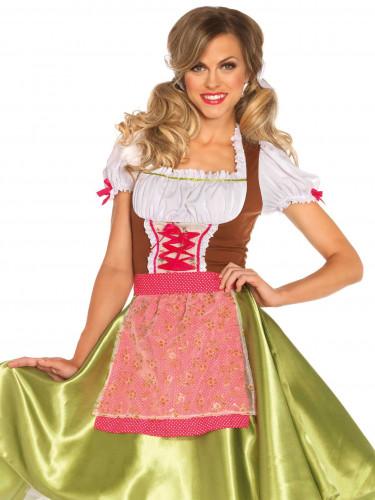 Groene dirndl jurk voor dames-1
