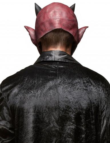 Enge duivel masker voor volwassenen Halloween-1