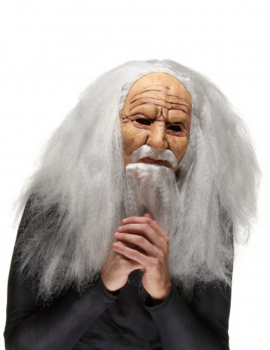 Oude tovenaar masker voor volwassenen