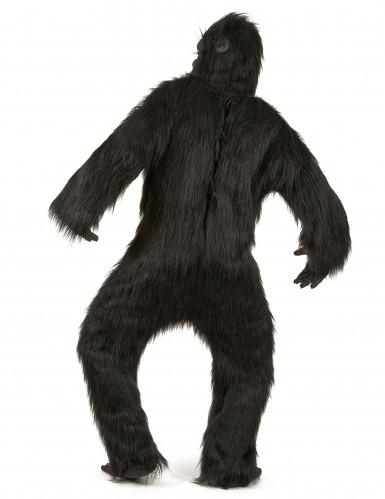Zwart gorilla kostuum voor volwassenen-2