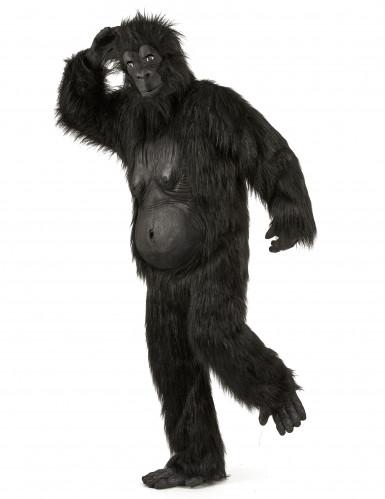 Zwart gorilla kostuum voor volwassenen-1