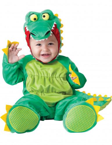 Krokodil kostuum voor baby's - Luxe