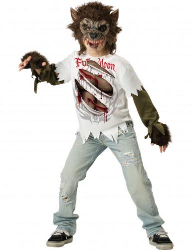 Weerwolf kostuum voor kinderen - Premium