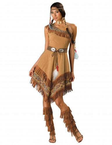 Chique indianen kostuum voor dames - Premium