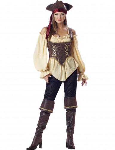 Piraten kostuum voor dames - Premium