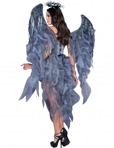 Gevallen Engel kostuum voor dames - Premium-1