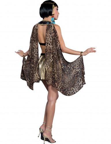 Luxe Egyptische koningin kostuum voor vrouwen-1