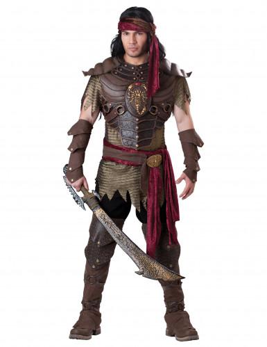 Deluxe schorpioen strijder kostuum voor mannen