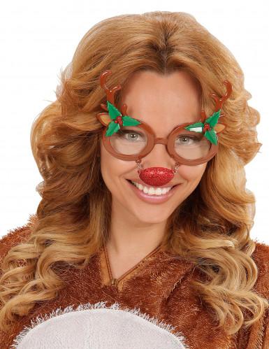 Rendier kerstbril voor volwassenen-1