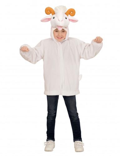 Vest met capuchon geit voor kinderen