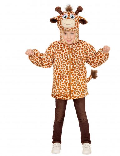 Vest met capuchon giraffe voor kinderen