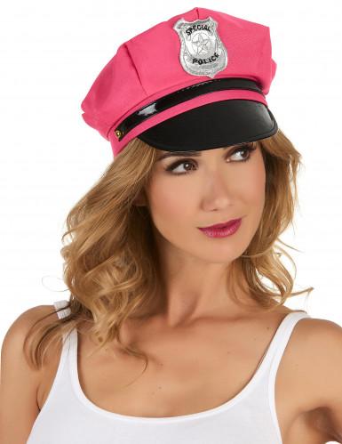 Roze politiepet voor vrouwen