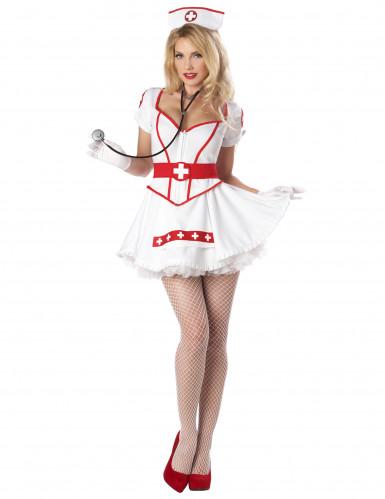 Sexy Nurse verpleegster kostuum voor vrouwen