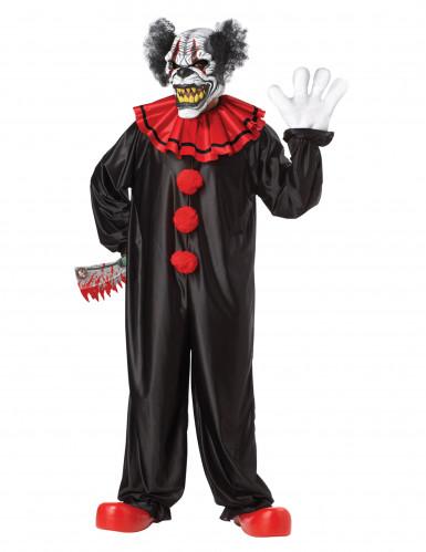 Donkere clown kostuum voor volwassenen