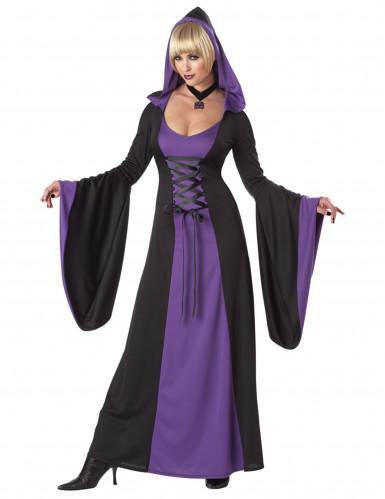Paarse vampier outfit voor dames
