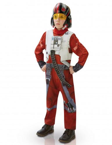 Poe X-wing fighter deluxe kostuum voor kinderen - Star Wars VII™