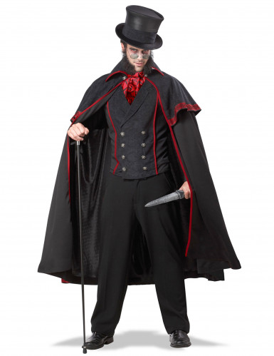 Halloween Jack the Ripper kostuum mannen