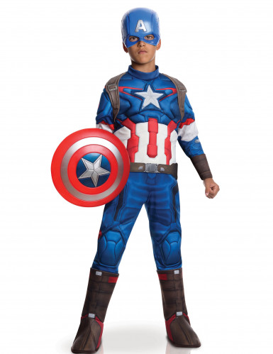 """Luxe Captain Americaâ""""¢ kostuum voor kinderen - Avengers 2â""""¢"""