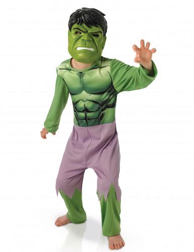 Hulk™ outfit en masker voor kinderen The Avengers™