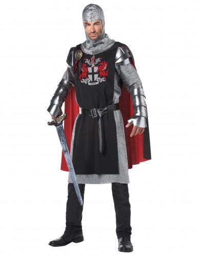 Middeleeuws draken ridderkostuum voor mannen