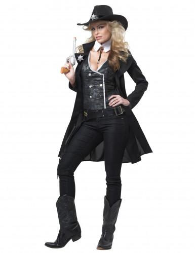 Luxe sheriff kostuum voor dames