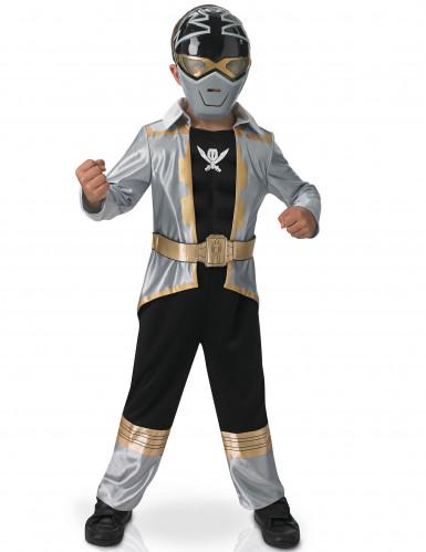 Zilverkleurig Power Rangers™ kostuum voor kinderen