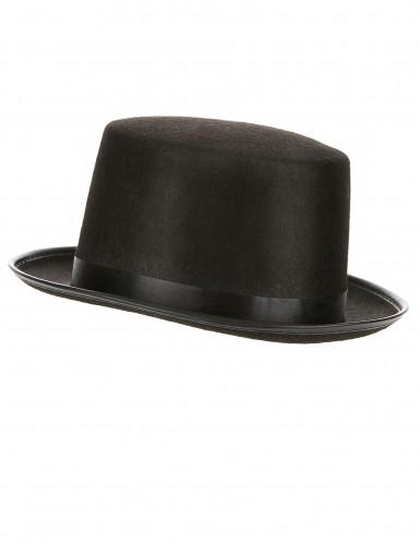 Zwarte hoge hoed voor volwassenen