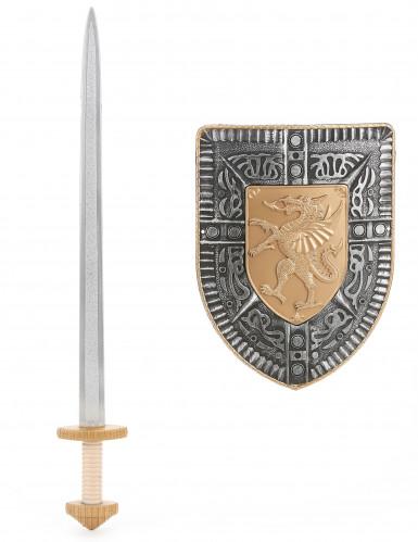 Set zwaard en schild voor kinderen