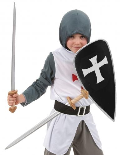 Kruisridderset schild en zwaarden voor kinderen-1