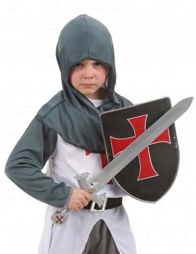 Kruisridder schild en zwaard voor kinderen-1