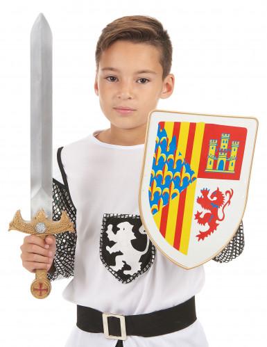 Ridderset schild en zwaard voor kinderen-1