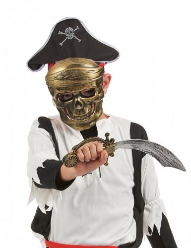 Piratenset - Sabel, hoed en masker voor kinderen-1