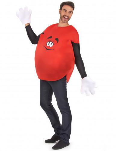 Rood snoep kostuum voor volwassenen-1